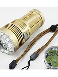 Lanternas LED / Lâmpadas Frontais / Lanternas e Luzes de Tenda / Lanternas HID / Lanternas de Mergulho Modo 8000 Lumens Lumens