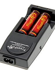 TrustFire 18650 3000mAh (2pcs) + TrustFire TR-001 Cargador de batería