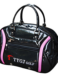 Women's Black PU Golf Clothing Shoes Shoulder Bag