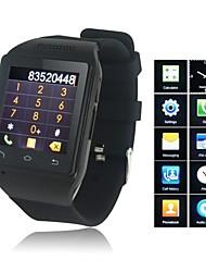Multi-Lenguaje inteligente del teléfono del reloj de la mano del receptor de cabeza libre atado con alambre sin hilos de Bluetooth para móvil Ver R18