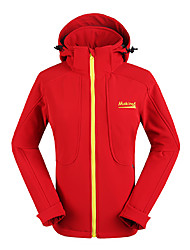 Makino Donne vento e acqua Difendere Coat Fleece (Red)