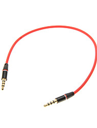 3,5 mm 0,25 M 0.8FT auxiliar Cable auxiliar de audio Jack macho a macho Cable