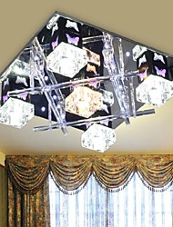 LED Modern Ceiling Crystal Chandelier with 5 Light