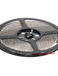 ZDM ™ 5m impermeabile 48W 600x3528 SMD calda luce della lampada striscia principale bianco (12V DC)