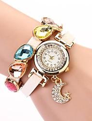 C & D de femmes de mode de luxe robe de montres avec pendentif lune XK-141