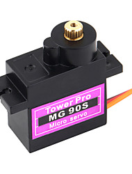 TowerPro Medalha MG90S Digital Copper engrenagem 9g Servo
