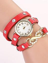 c & d mode 2014 femmes de cru en cristal de bracelet de cuir montres strass XK-160