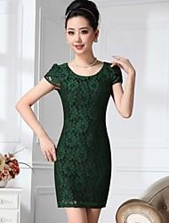 Yiman ® OL der Frauen von Slim Fit Dress