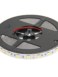 Z®ZDM 5M 72W 300x5050SMD 3000-3500K Warm White Light LED Strip Lamp (DC 12V)