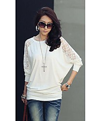 The One & Only Women's New Style All  Match Lace Batwing Sleeve Knitwear Shirt N6186001