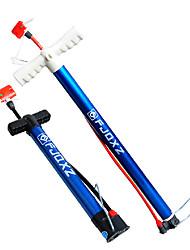 FJQXZ 58CM Stainless Steel Blue Bike Pump