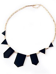Silk Road 18 k Austria Water Plating Black Necklace 617089