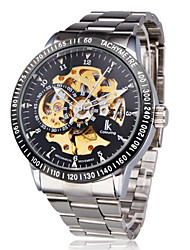 Men's Watch Mechanical Automatic Self-Winding Hollow Engraving Wrist Watch Cool Watch Unique Watch Fashion Watch