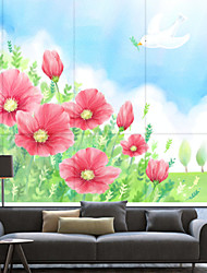 Cute Cartoon Style Blossoms Roller Shade