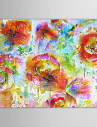 Hand Painted Oil Painting Floral Blanket Flower with Stretched Frame