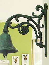 American Retro Rustic's Flower Of Wrought Iron Hand-type Door Bell
