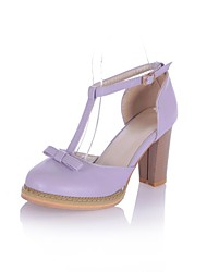 Women's Chunky Heel Round Toe  Sandals Shoes(More Colors)