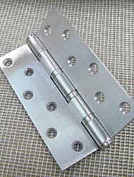 152mm × 101mm Mute Brushed Stainless Steel Door Hinge