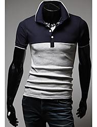 Sameul Мужская Повседневная рубашка поло
