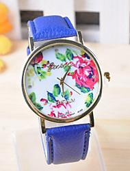 Omiya Women's PU Leather Wrist Watch DSC_0234