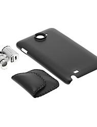 Samsung N9220 caja del teléfono celular y 60 veces de aumento de la lente en el Set