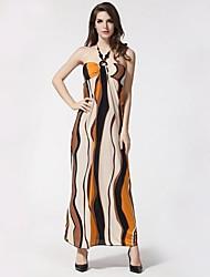 Mode de impression des femmes de Bohème de plage Robes (Pattern Situation au hasard)