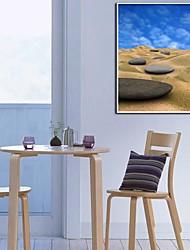 Deserto E Pietra decorativa Pittura Stampa su tela con cornice