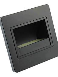 1 COB Light 1.5W PC Black LED Wall Light IP65 Waterproof