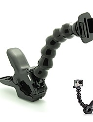 GP163 Egamble Fast Release Plate Clamp Flexible Mount with Magic Joint Jaws Mount for GoPro Hero 3+ / 3 / 2