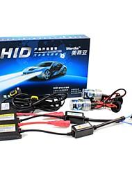 Merdia H1 55W 6000K 2800LM HID-Xenon-Licht mit Vorschaltgeräte Kit (9 ~ 16V AC)