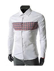 Men's Cotton Blend Casual Mark