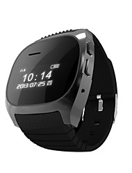 rwatch m18 SmartWatch indossabile, controllo multimediale / chiamate hands-free / contapassi / anti-persi per android / ios