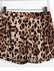 LIVA CHICA Europea Leopard causales Tight Pants (Leopard)