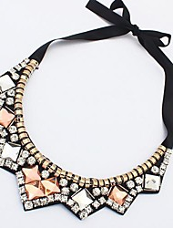 Women's Fashion New Candy Color Pearl Joker Necklace