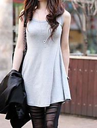 Women's Fashion Plus Size Long Tank Tops Vest
