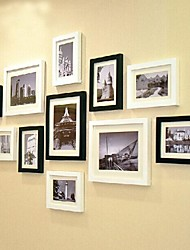 2 Farben Foto Wall Frame Collection Set von 11