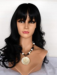 14061321 Human Hair Wigs Body Wave with Bang