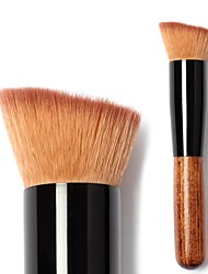 Pieno pennello trucco in vetrina Per Foundation Cream Blush Flat Top lucidatura Foundation Brush