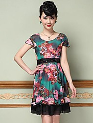 YIMAN® Women's Print Dress