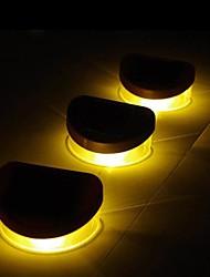 Baralho Luzes 6pcs 2LED Amarelo Solar parede da escada parapeito passarela ao ar livre da lâmpada