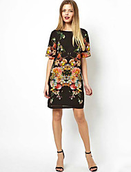 Scatti Vrouwen bloemenprint jurk