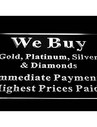 We Buy Gold Platinum Silver Diamonds Shop Neon Light Sign