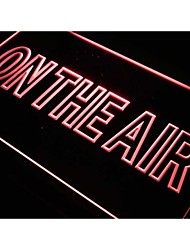 J708 On The Air Studio Room jeu Neon Light Enregistrez-vous
