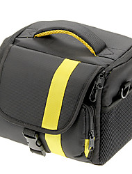 NEW Nylon Large Size SLR Camera Bag (Yellow, Red)