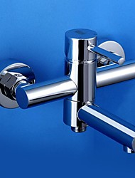 HPB™ Contemporary Chrome Finish Single Handle Bathtub Faucet