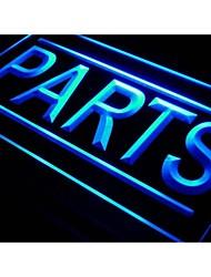i525 PARTS Auto Car Shop Display Neon Light Sign
