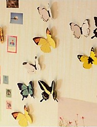 3D color butterfly wall stickers