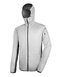 AMADIS Gray poliéster manga larga UV Resistente chaqueta de Pesca
