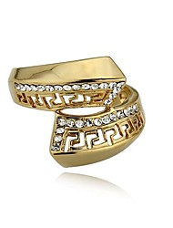 Party Ring 18K Gold Plated Ring Jewelry Last Kings Fashion Gold Ring Ethnic African Ring