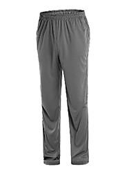 Dark Gray Poliéster Anti-UV Pantalones Largos Pesca AMADIS Hombres